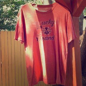 T shirt.  Lucky brand